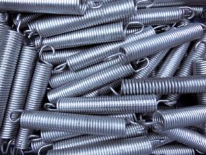 Sprungfedern Gartentrampolin: Stahlfedern