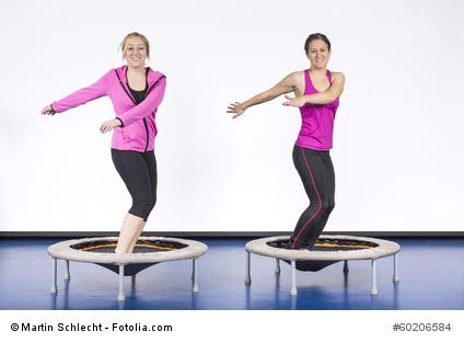Fitness Trampolin - Mini-Trampolin