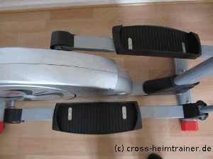 Pedalabstand: Christopeit CX 6 Crosstrainer