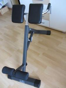 Stabiler Rückentrainer Tricon