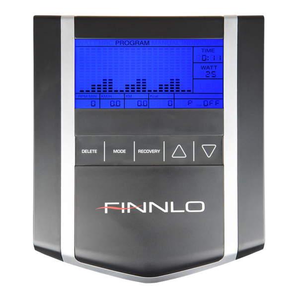 Finnlo-heimtrainer-ergometer-Exum-Trainingscomputer