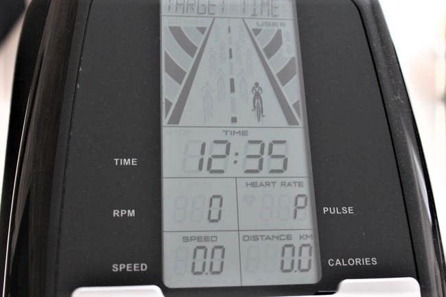 Sportstech Indoor Cycle SX400 Display