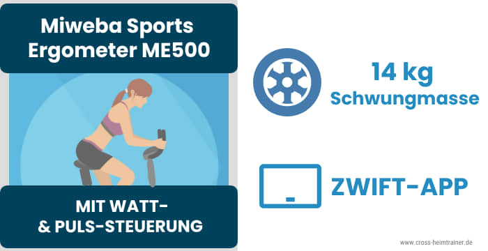 Miweba Sports Ergometer ME500