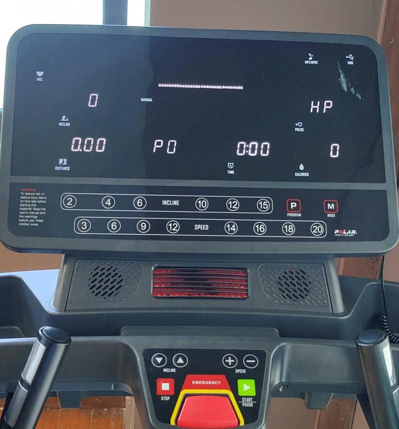 Profi Laufband Computer Cockpit
