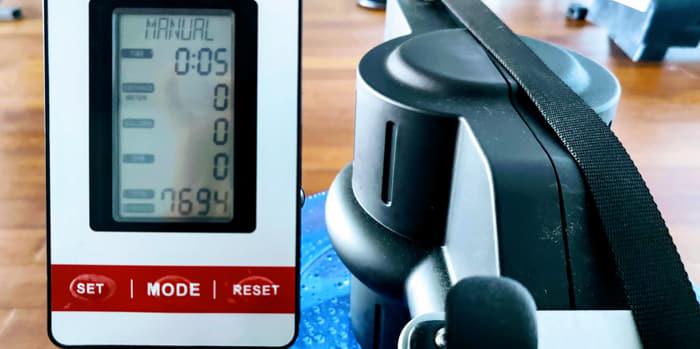 Wasser Rudergeraet Monitor
